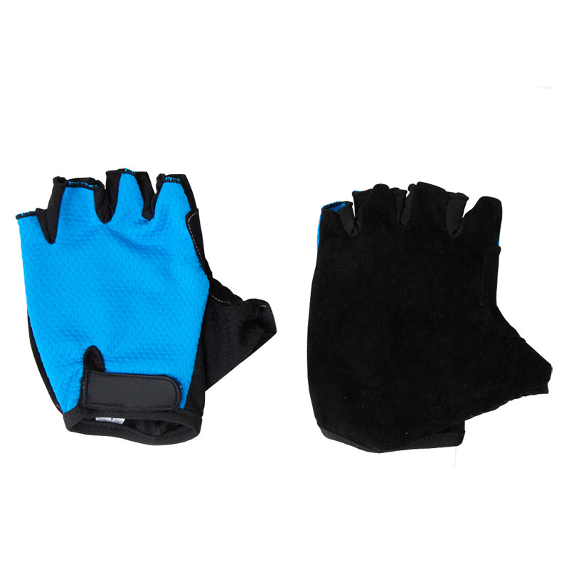 323273 Перчатки велосипедные VEL-23-5 синие