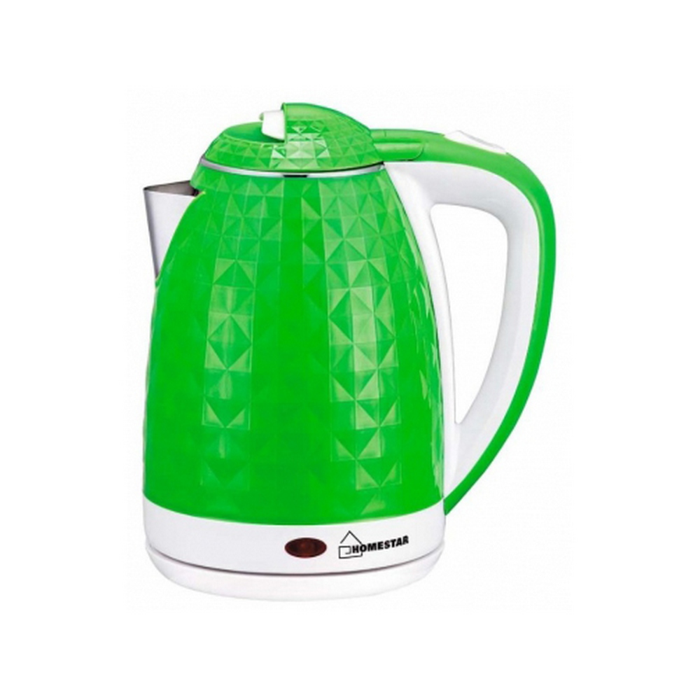 Чайник HOMESTAR HS-1015 зелено-белый