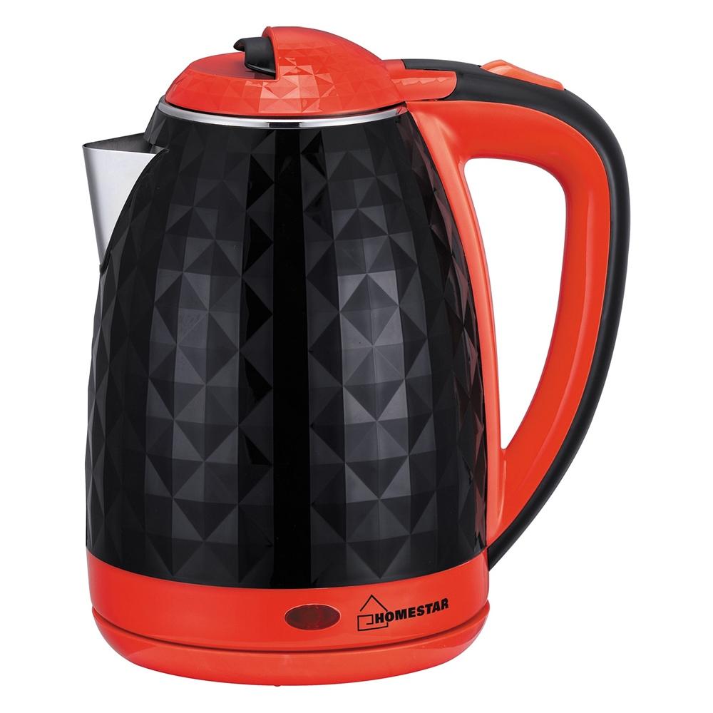 Чайник HOMESTAR HS-1015 черно-красный