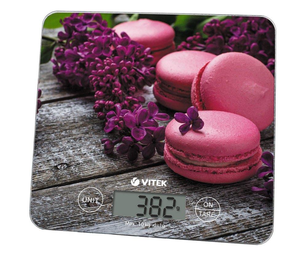 Весы кухонные VITEK VT-8003 фиолетовый