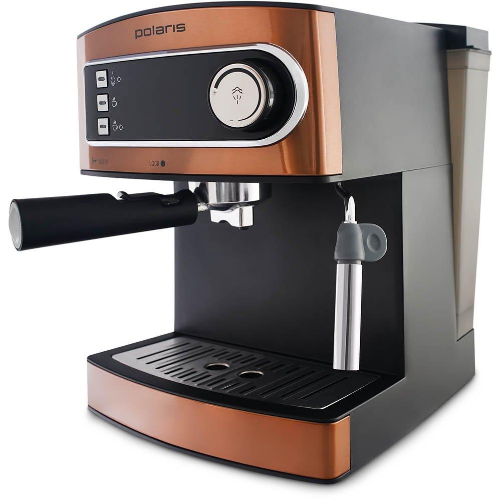 Кофеварка POLARIS PCM 1515E Adore Crema эспрессо бронза