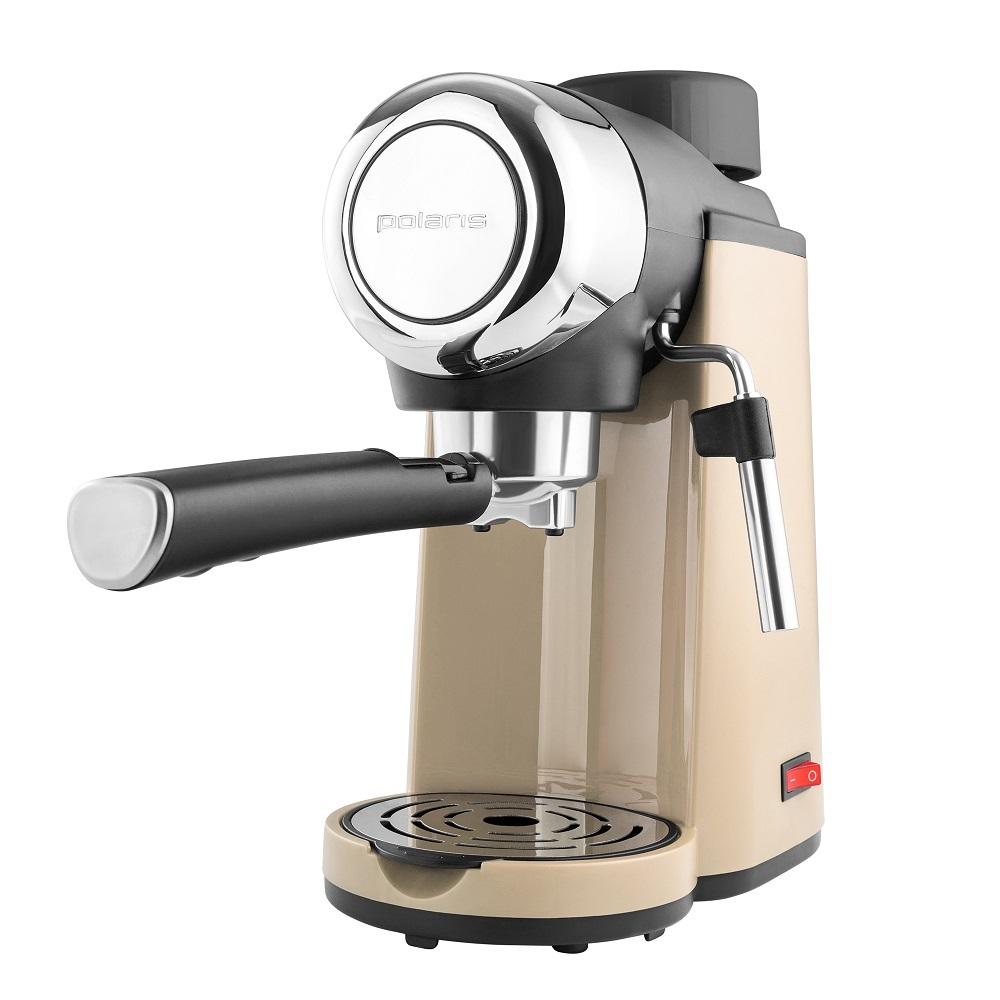 Кофеварка POLARIS PCM 4005A бежевый