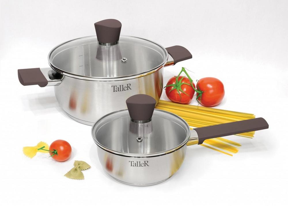 Набор посуды Taller TR-7380 (4 предмета) Левенс