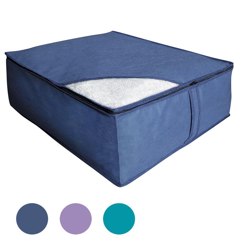 """004501 Кофр для хранения одеял, подушек и пледов """"Рыжий кот"""""""