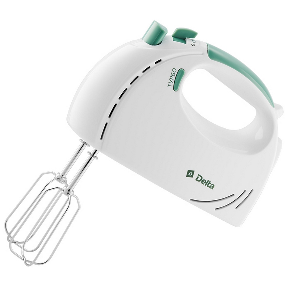 Миксер DELTA DL-5061 белый с зеленым