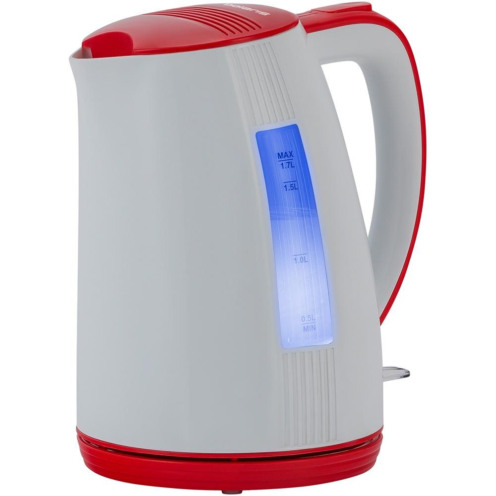 Чайник POLARIS PWK 1790CL белый-красный