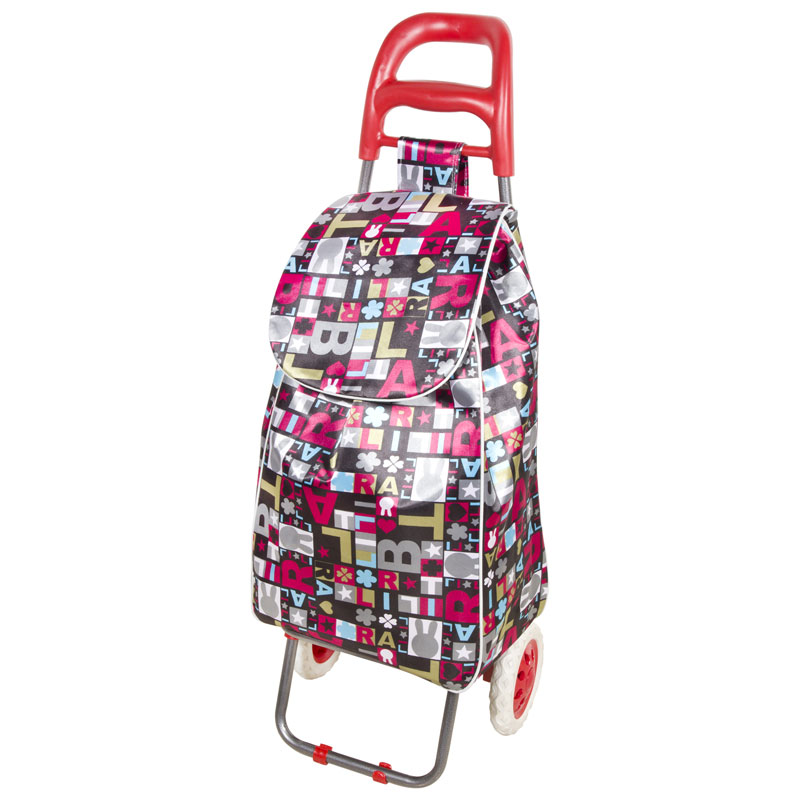 "093541 Тележка с сумкой ""Париж"" А204 ""Рыжий кот"" 30кг"