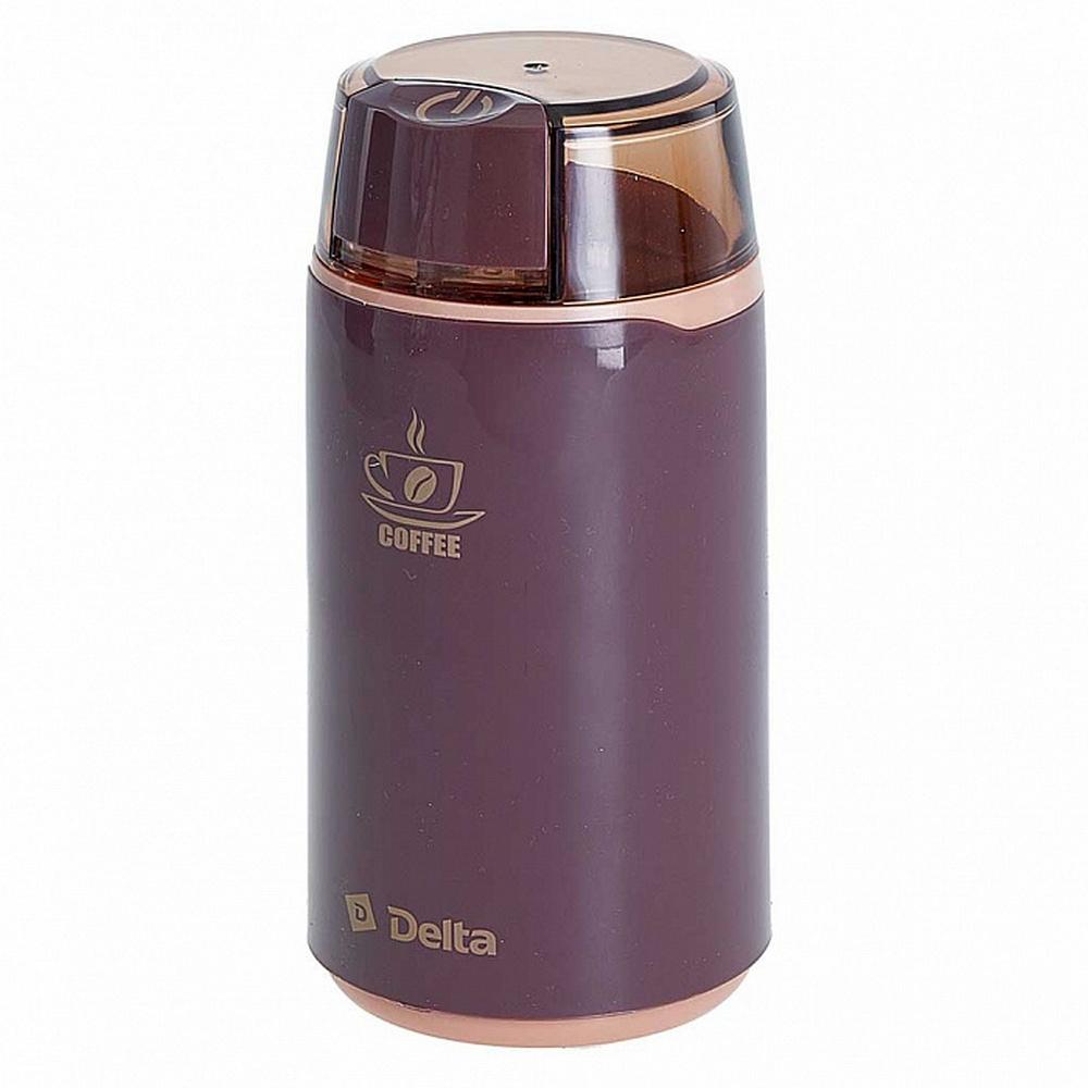Кофемолка DELTA DL-087K коричневый