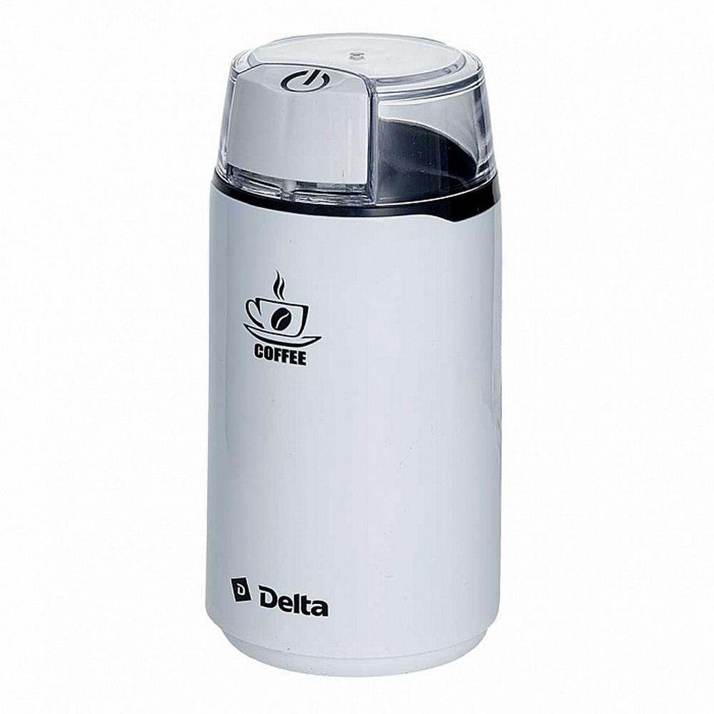 Кофемолка DELTA DL-087K белый