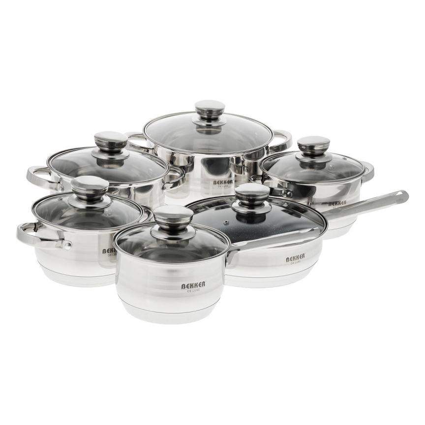 Набор посуды Bekker BK-1755 De Luxe