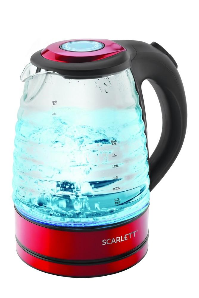 Чайник SCARLETT SC-EK 27 G62 красный