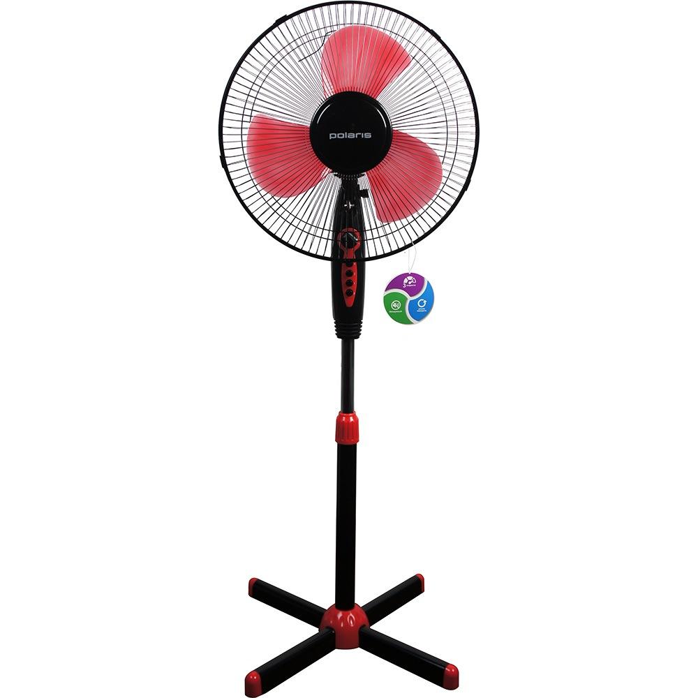Вентилятор POLARIS PSF 40V черный/красный