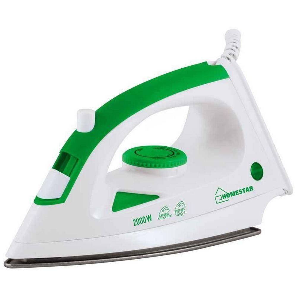 Утюг HOMESTAR HS-4001 бело-зеленый