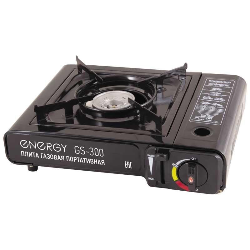 146004 Плита газовая портативная Energy (кейс) GS-300