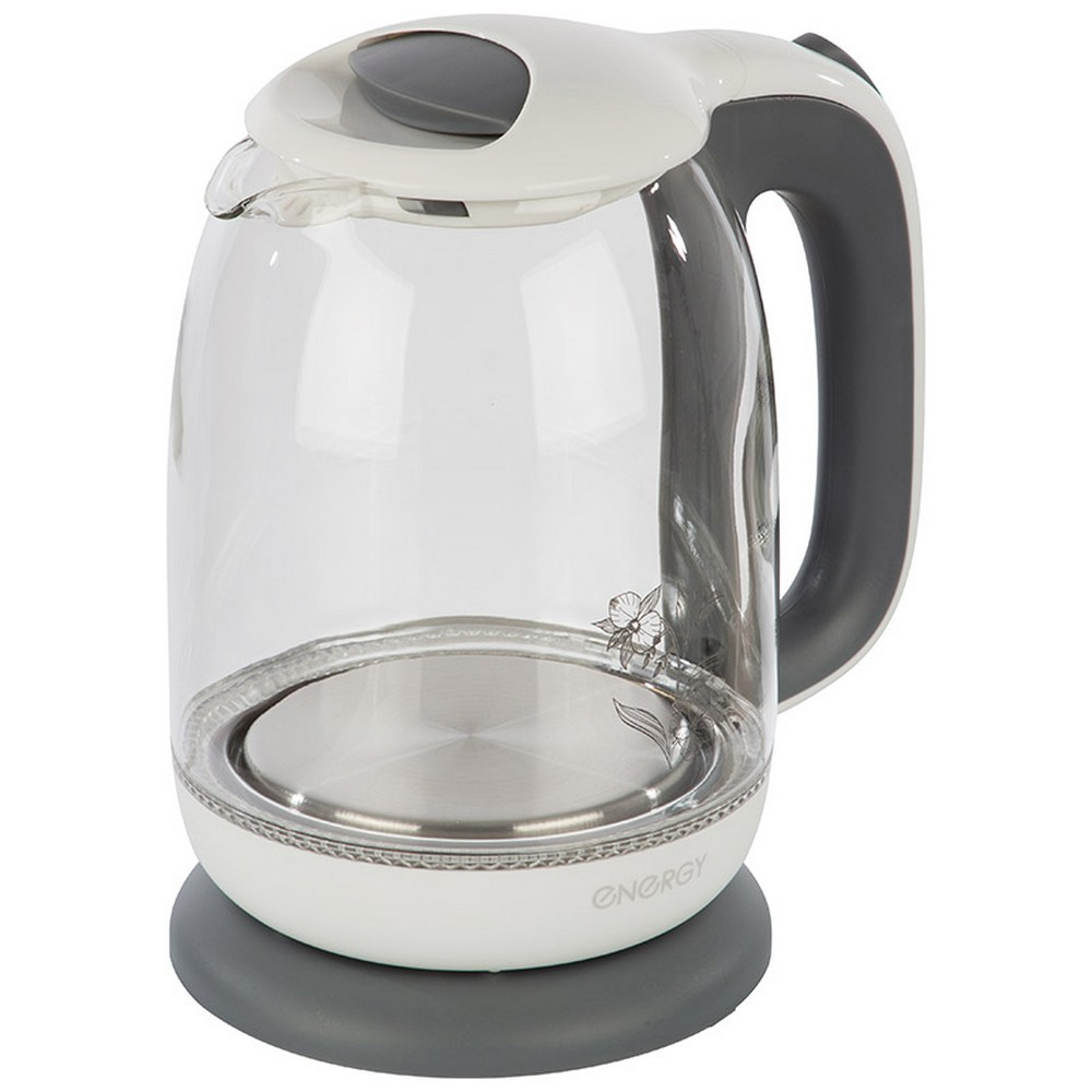 Чайник Energy E-281 бело-серый