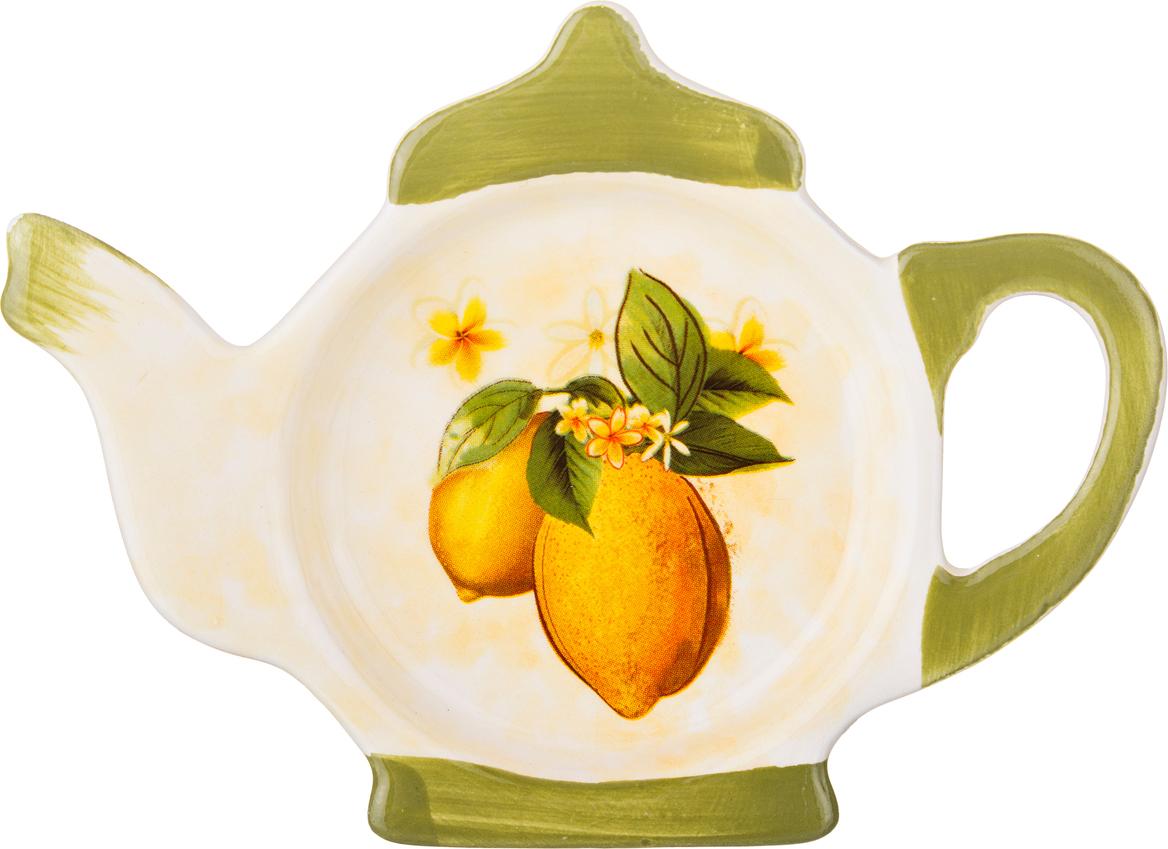"""358-1123 Подставка под чайные пакетики """"Лимоны"""""""