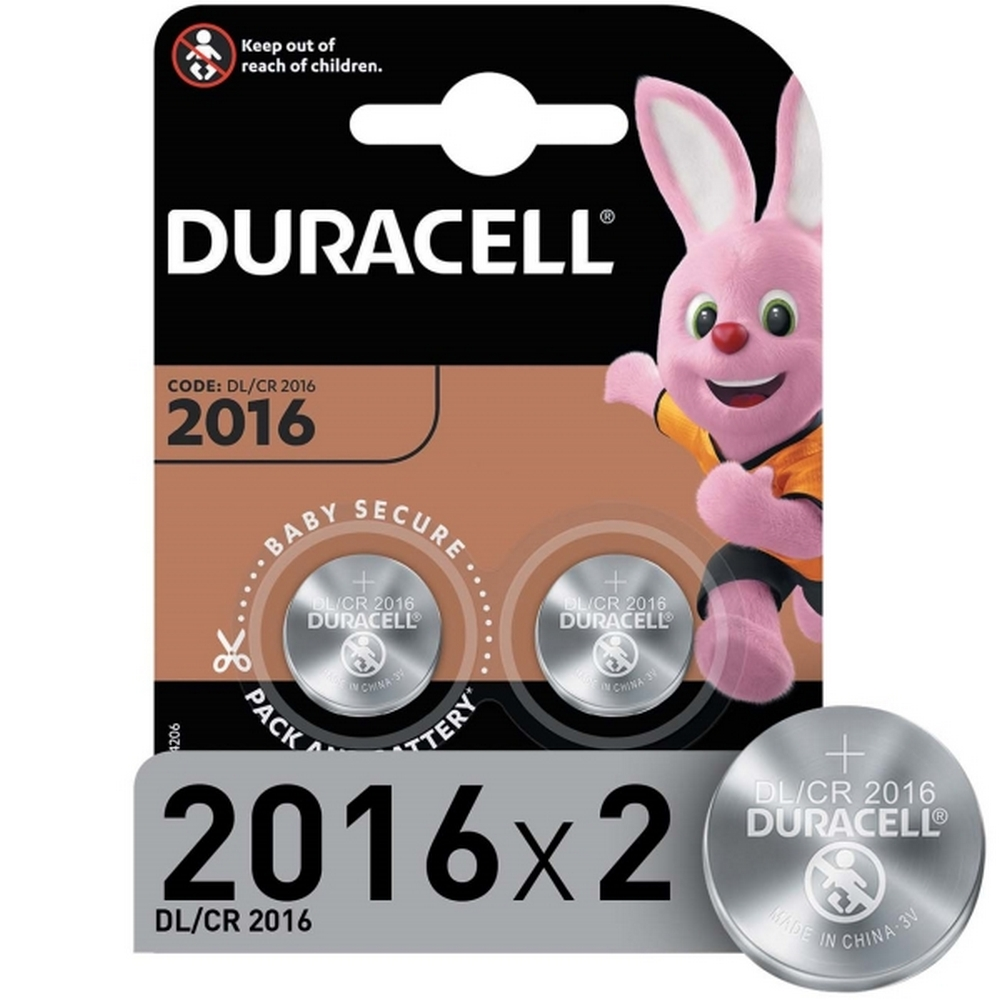 Элемент питания Duracell DL/CR2016-2BL