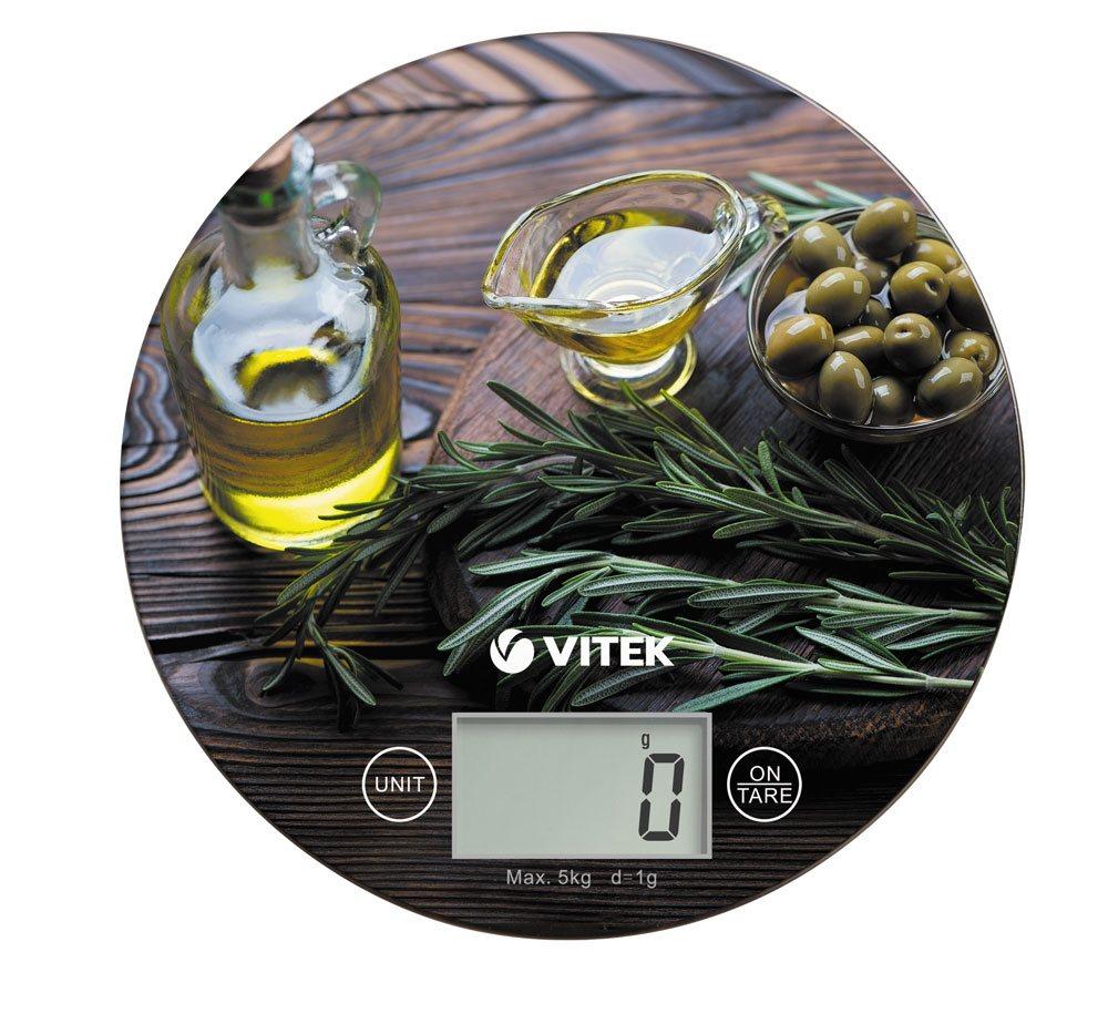 Весы кухонные VITEK VT-8029 коричневый