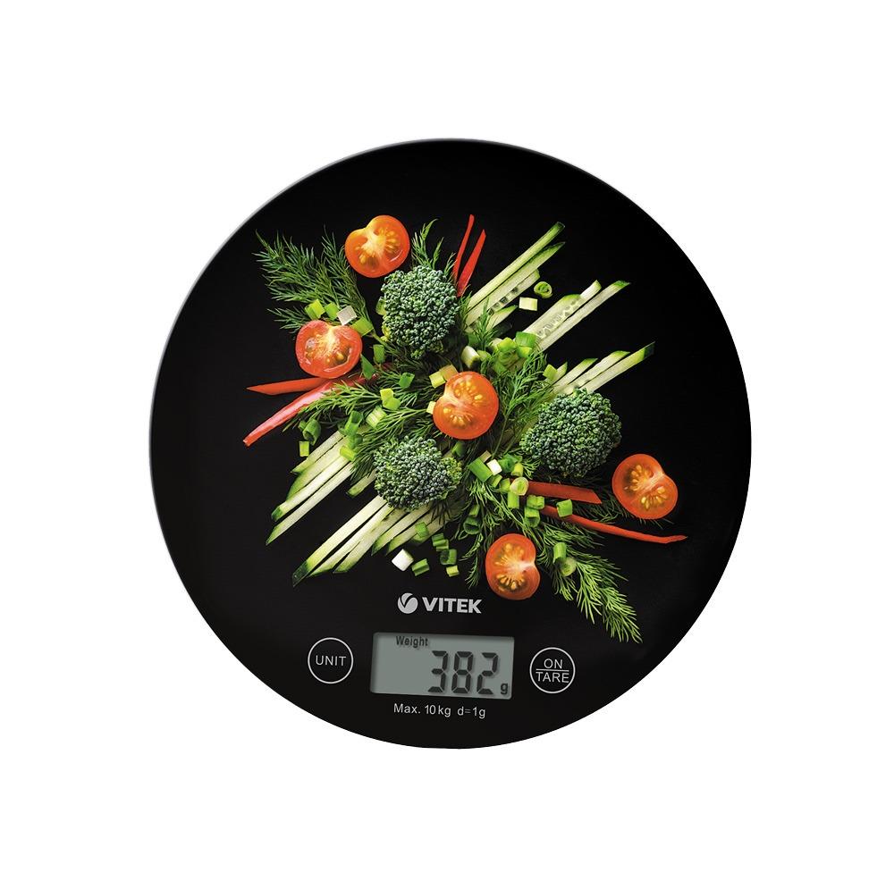 Весы кухонные VITEK VT-8006 черный