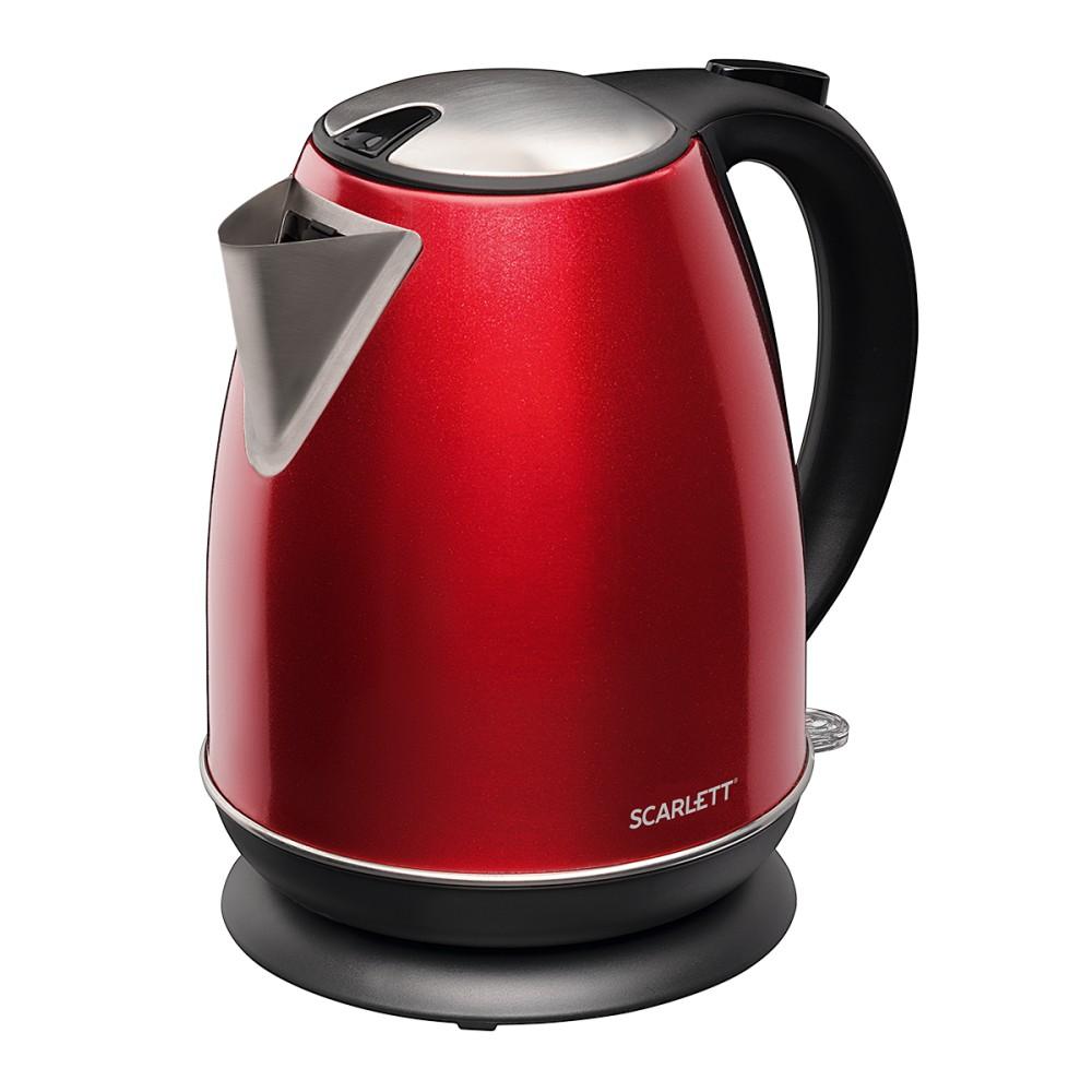 Чайник SCARLETT SC-EK 21 S87 красный