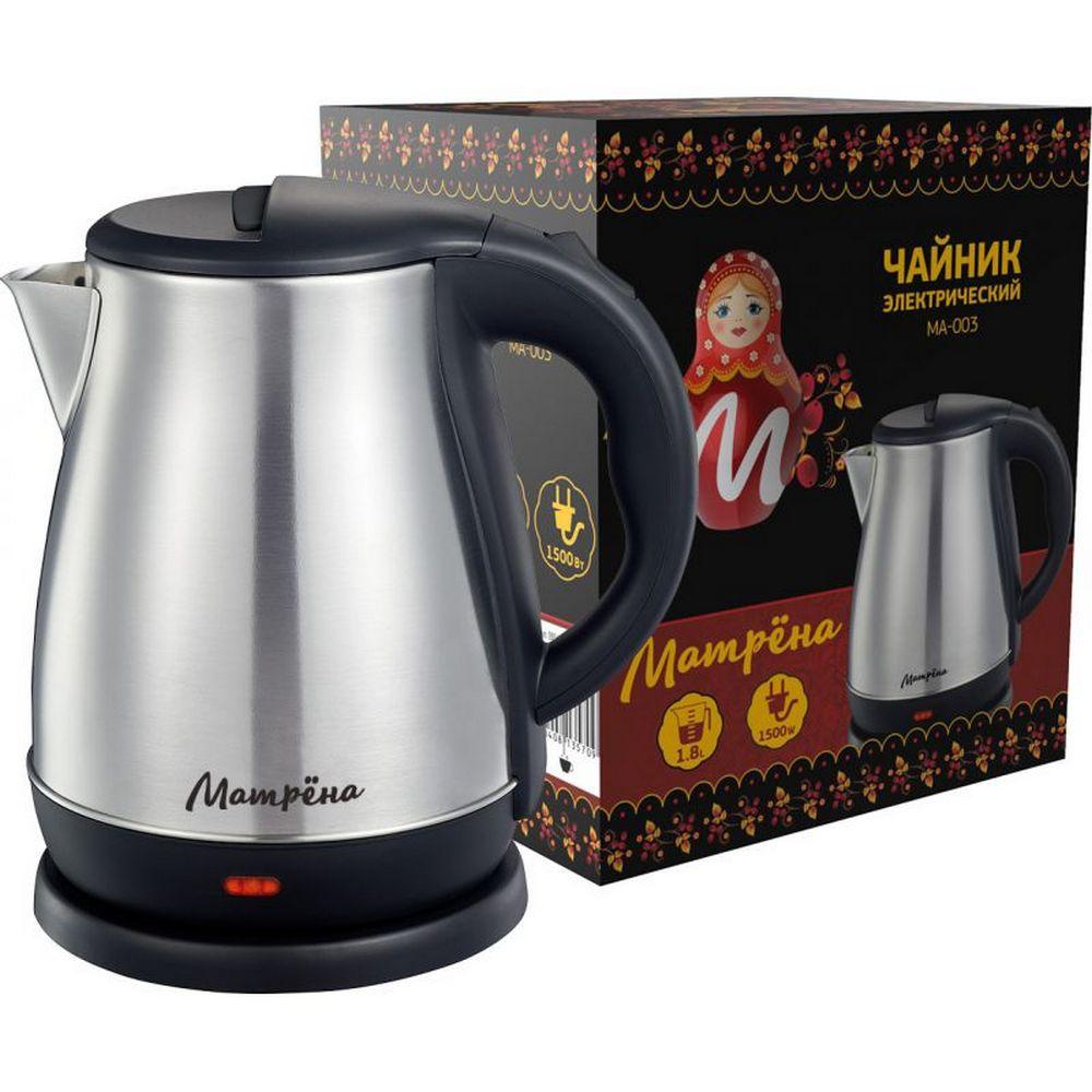 Чайник МАТРЕНА МА-003 стальной (005410)