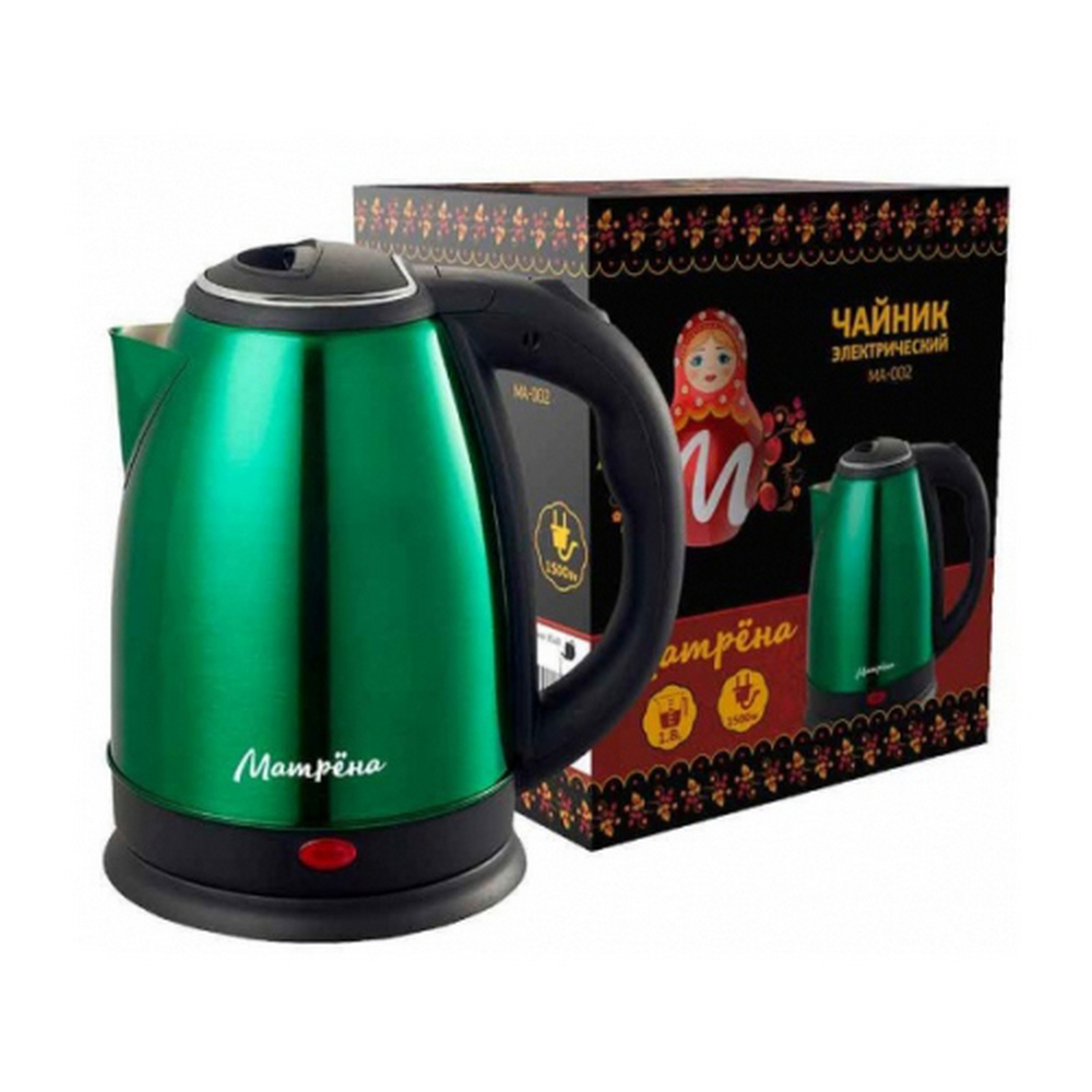 Чайник МАТРЕНА МА-002 зеленый (005408)