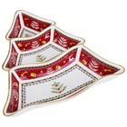 """586-350 Менажница 3-х секционная """"Christmas collection"""""""