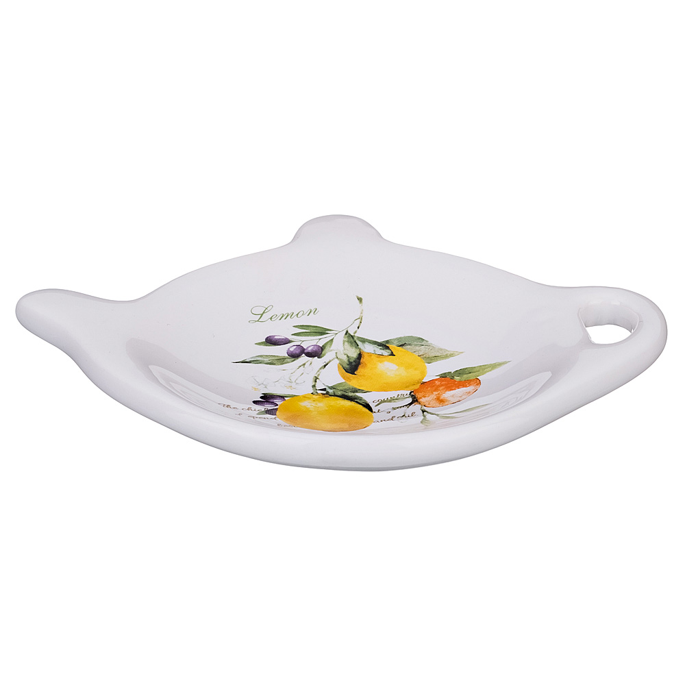 """230-154 Подставка для чайных пакетиков """"Итальянские лимоны"""""""
