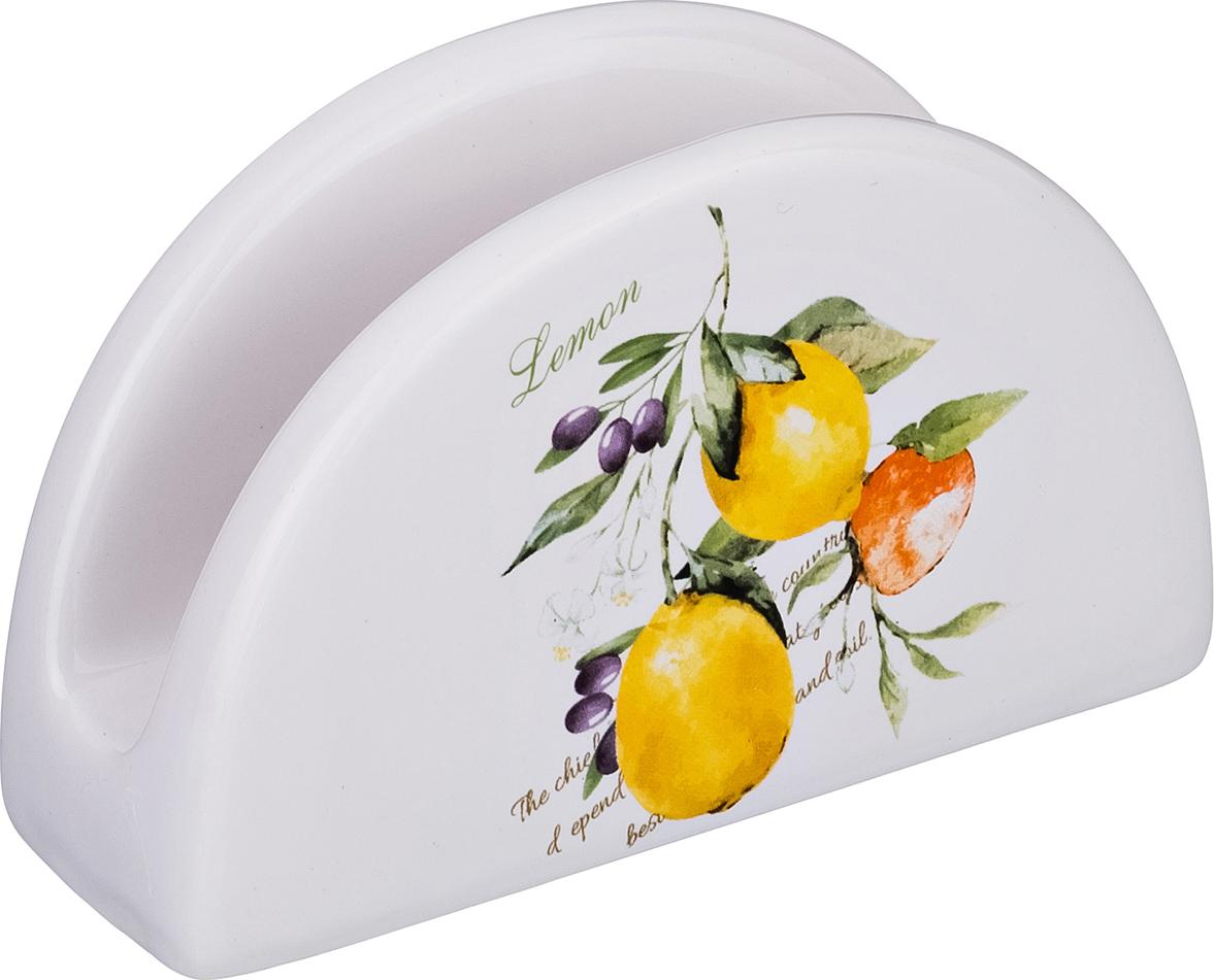 """230-158 Салфетница """"Итальянские лимоны"""""""