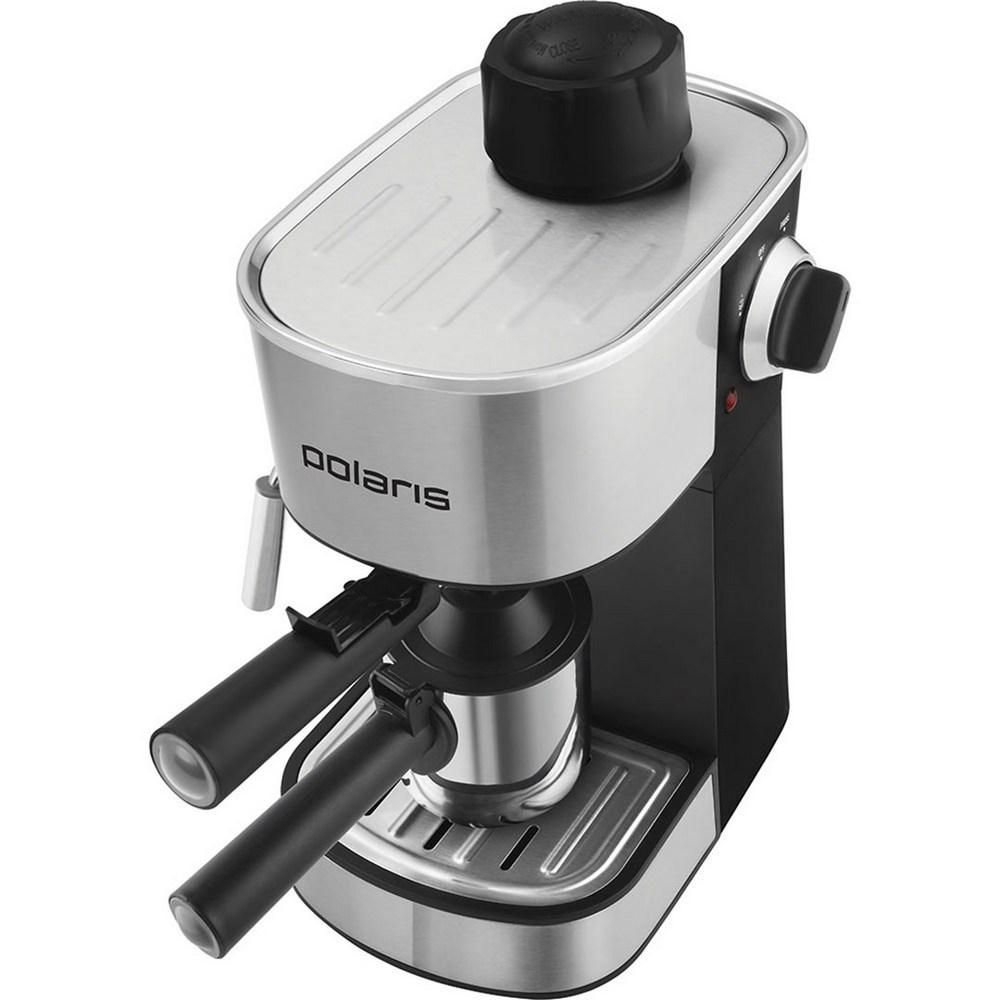 Кофеварка POLARIS PCM 4008AL нержавеющая сталь