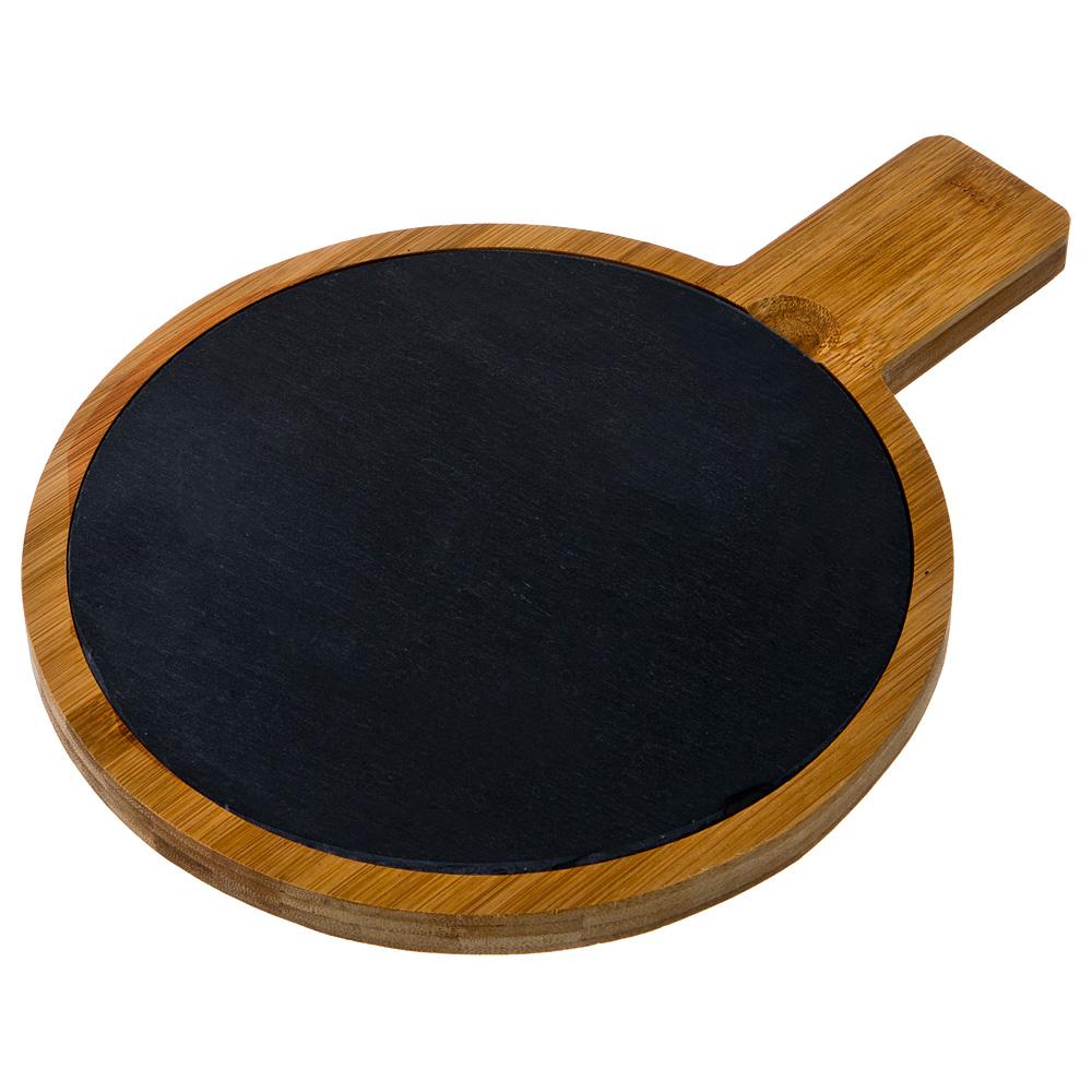 897-061 Доска сервировочная Agness 29.5х22х1.5см бамбук