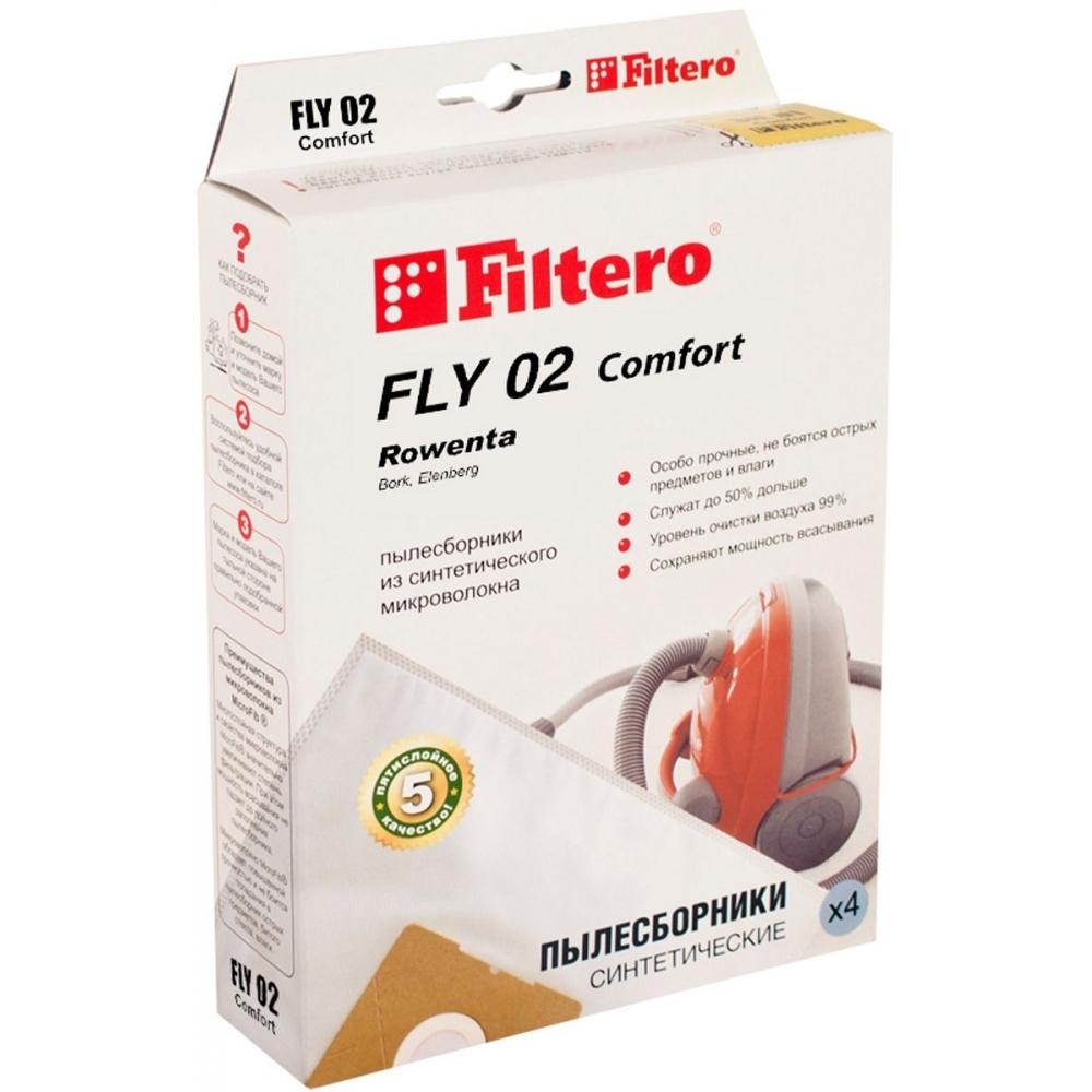 FLY 02 (4) Comfort, пылесборники Filtero