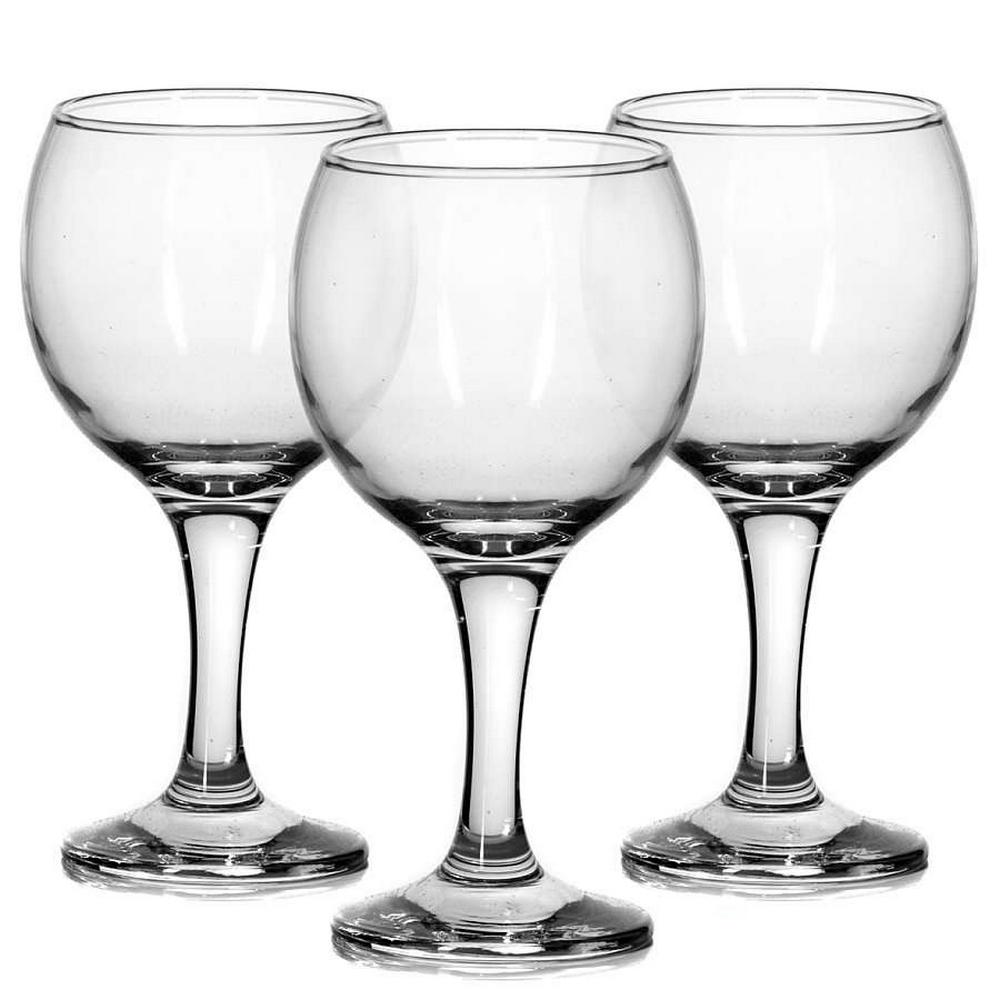 44411B// Набор бокалов BISTRO 3шт 290мл (вода)