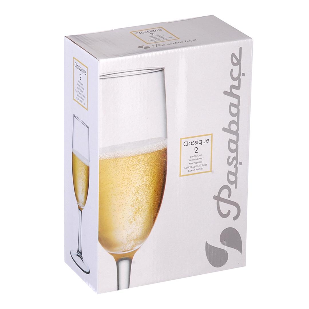 440335B Набор бокалов КЛАССИК 2шт 250мл (шампанское)