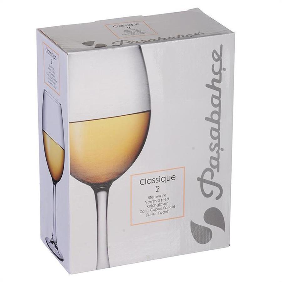 440151B Набор бокалов КЛАССИК 2шт 360мл (белое вино)