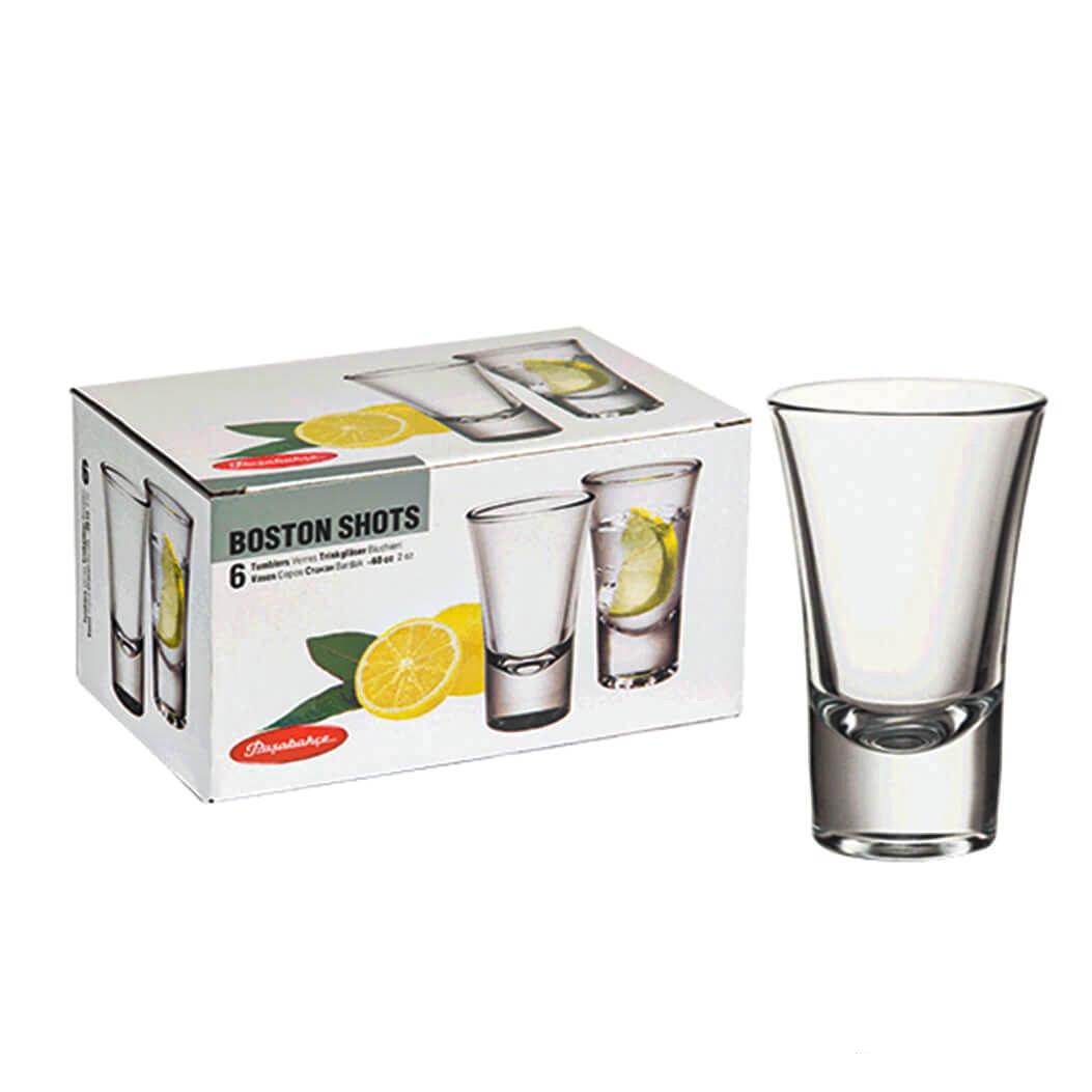 52174B Набор стаканов БОСТОН ШОТС 6шт 40мл (водка)