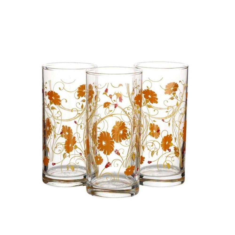 42402B/D7 Набор стаканов SERENADE 3шт 290мл оранжевый