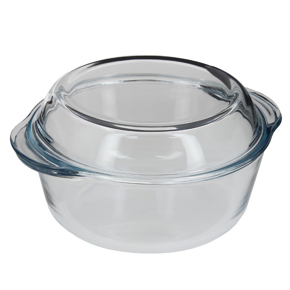 59023 Посуда для СВЧ кастрюля с крышкой 1.5л
