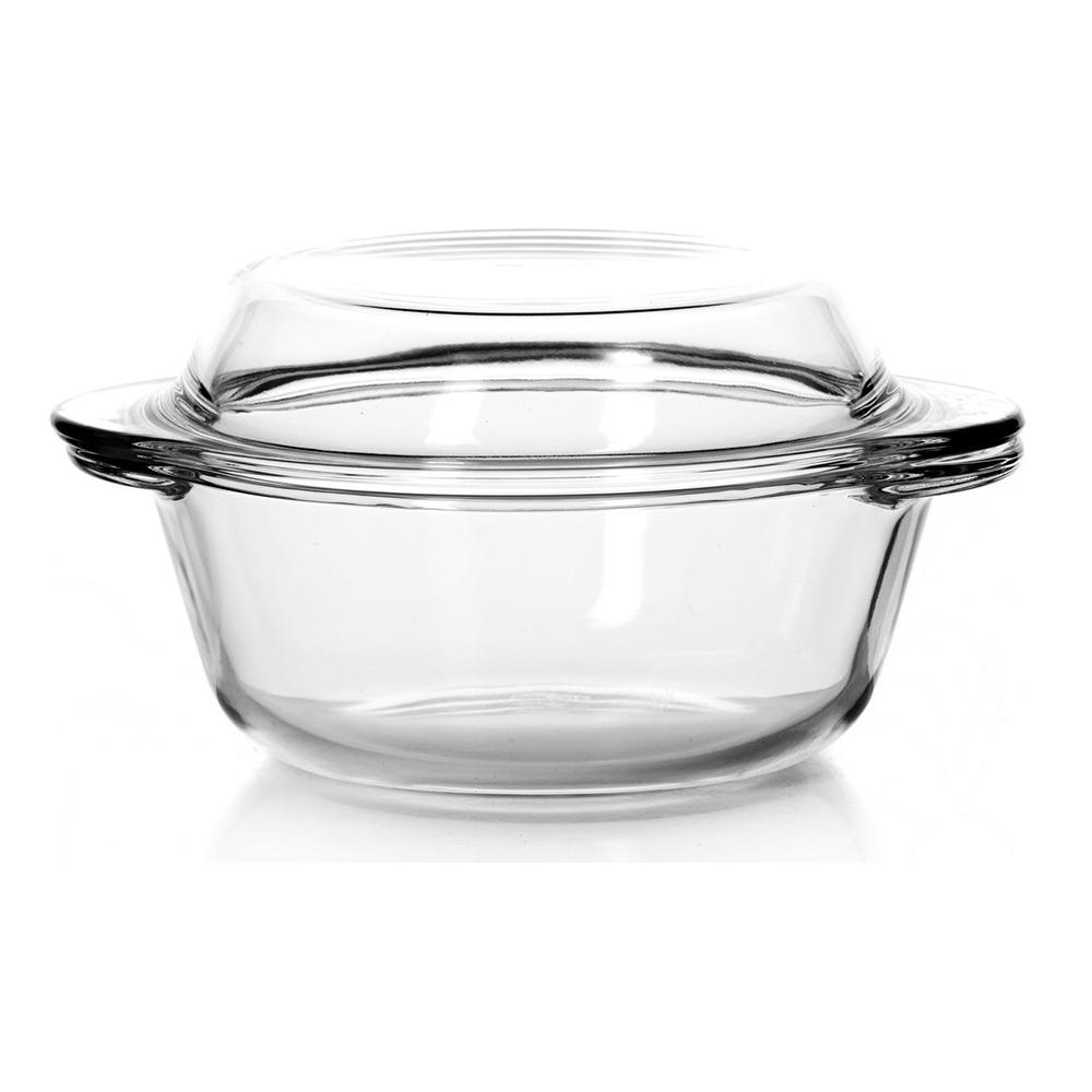 59033 Посуда для СВЧ кастрюля с крышкой 1л