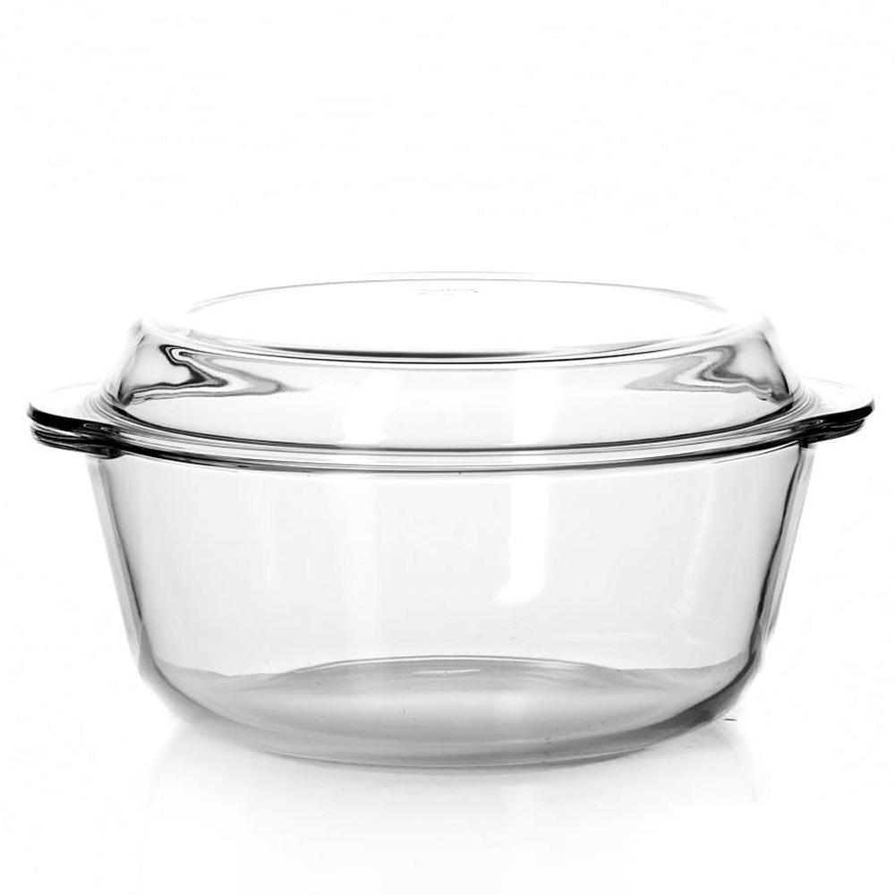 59013 Посуда для СВЧ кастрюля с крышкой 3л