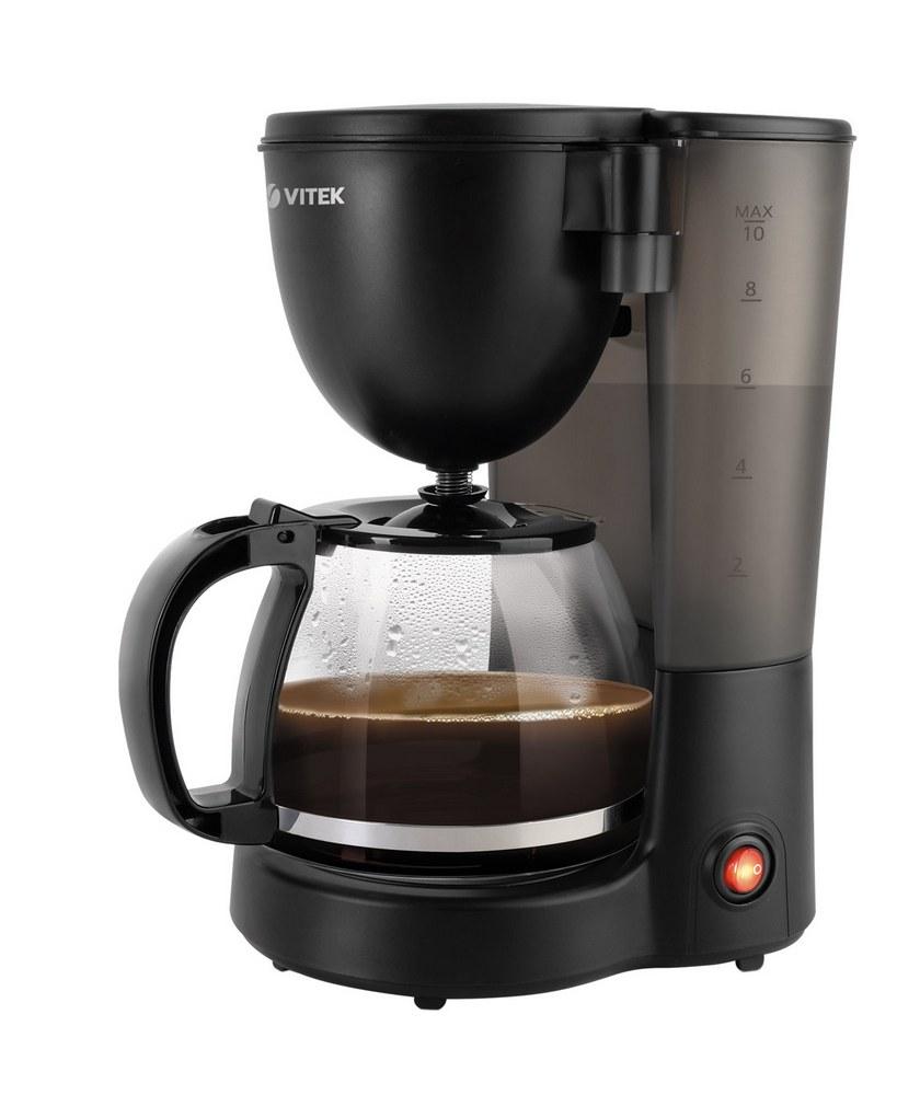 Кофеварка VITEK VT-1500 разноцветный