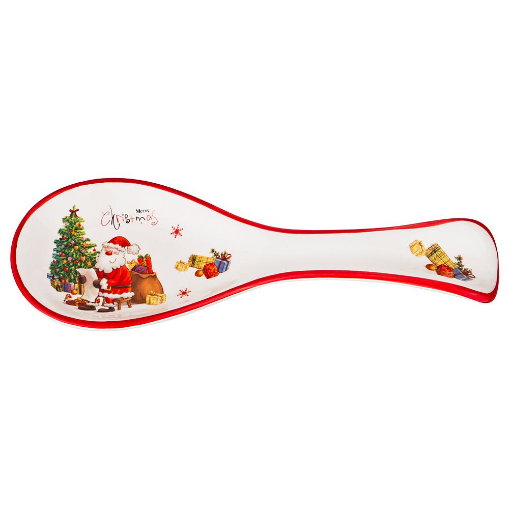 "358-1242 Подставка под ложку ""Merry Christmas"""