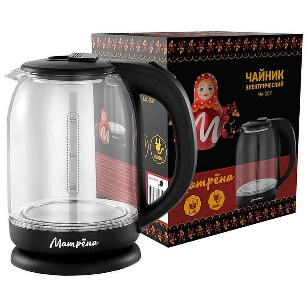 Чайник МАТРЕНА МА-007 черный (005420)