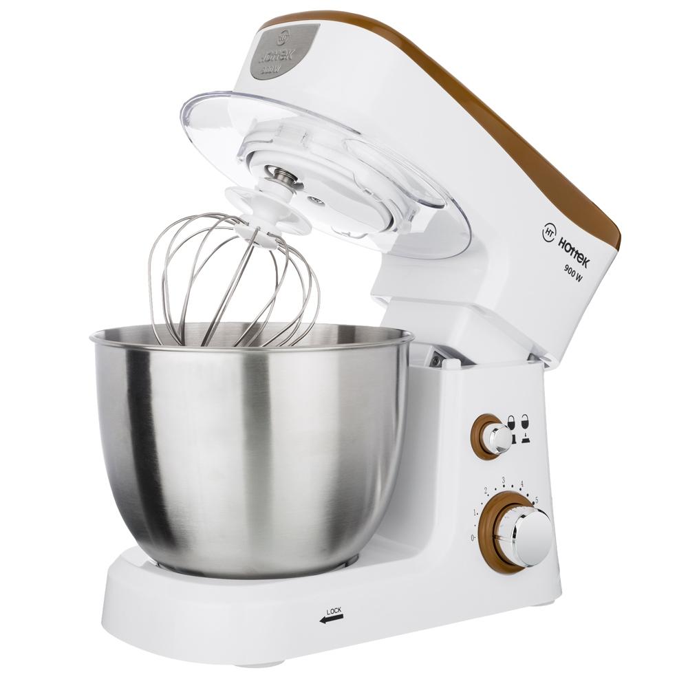 Кухонная машина HOTTEK HT-977-001 коричневый