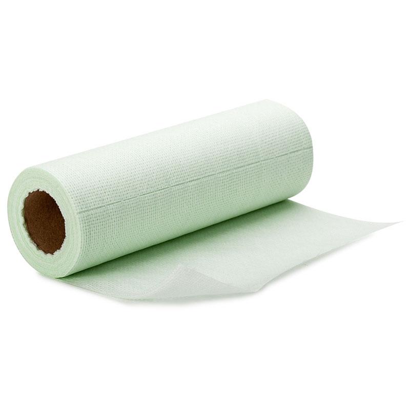 """002928 Салфетки из бамбукового волокна хозяйственные в рулоне """"Рыжий кот"""", размер 25х30см, 30шт"""