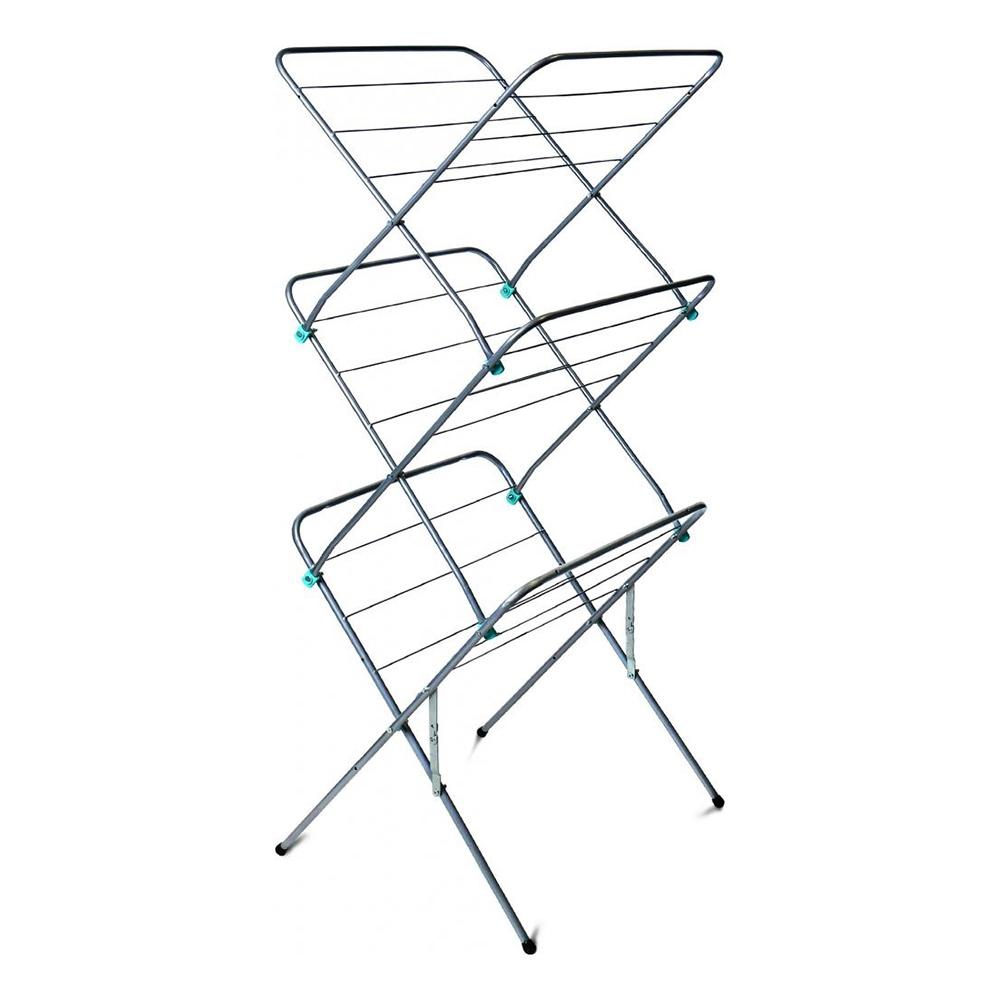 Сушилка 15 д/белья напольная складная вертикальная (53х49.5х130см) СБВ2/С