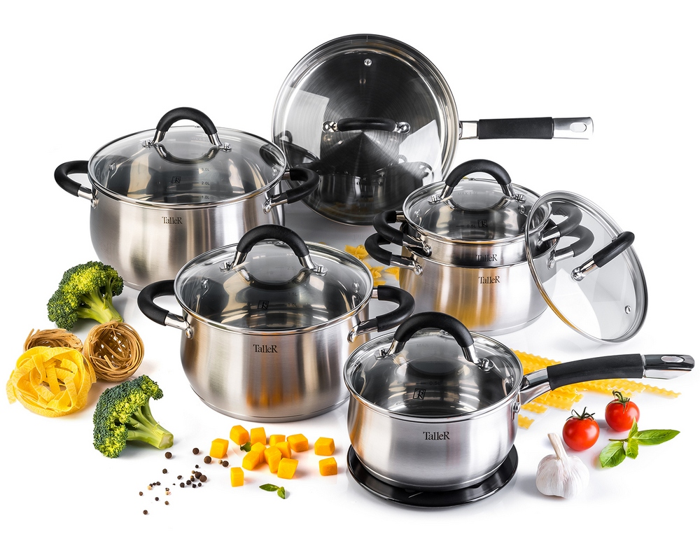 Набор посуды Taller TR-11047 (13 предметов) Шелборн