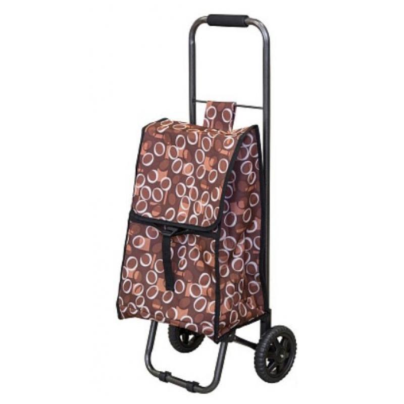 """093536 Тележка с сумкой D203 """"Рыжий кот"""""""