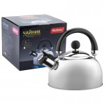 900055 Чайник металлический со свистком Mallony DJA-3023