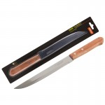 005166 Нож с деревянной рукояткой ALBERO Mallony MAL-02AL разделочный